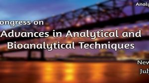World Congress on Advances In Analytical and Bioanalytical Techniques
