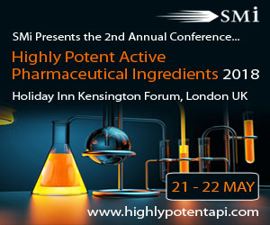 Highly Potent Active Pharmaceutical Ingredients – Under 2 Weeks Remain!