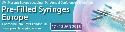 Global PFS Market Vendors at SMi's Pre-Filled Syringes events