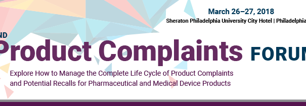 2nd Product Complaints Forum