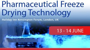 1 week remaining for the 6th Pharmaceutical Freeze Drying Technology conference