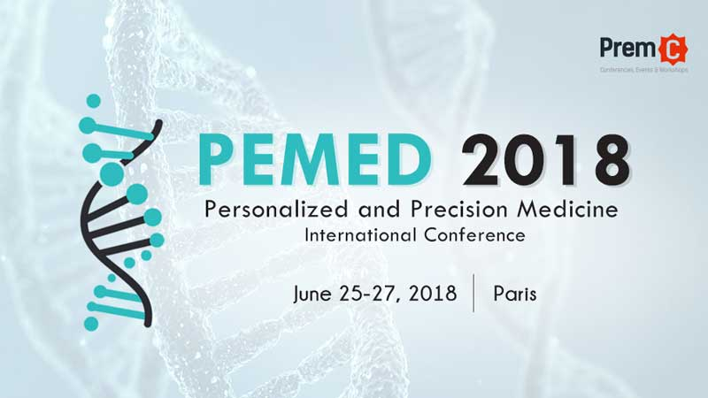 Personalized and Precision Medicine International Conference – PEMED 2018