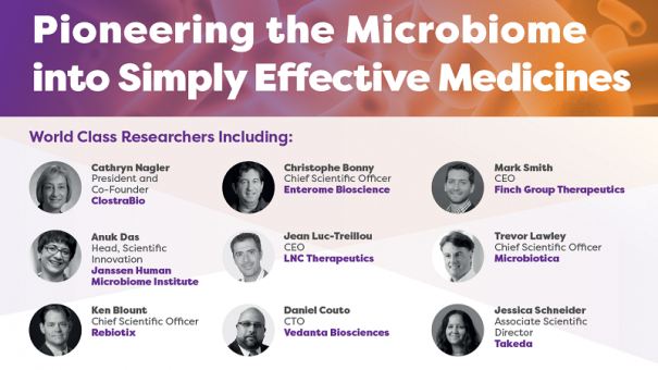 Microbiome Drug Development Boston 2018