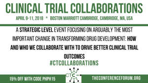 3rd Annual Clinical Trial Collaborations Event Comes to Boston in April 2018