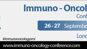 Invitation from Chair of this year's Immuno-Oncology Conference in London