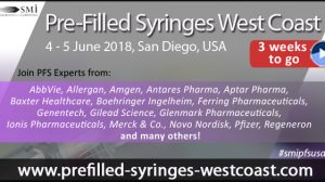 SMi's Pre-Filled Syringes West Coast conference and exhibition – attendee list released