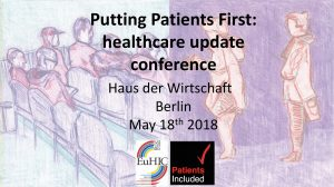 Putting patients first: a unique patient-focused conference