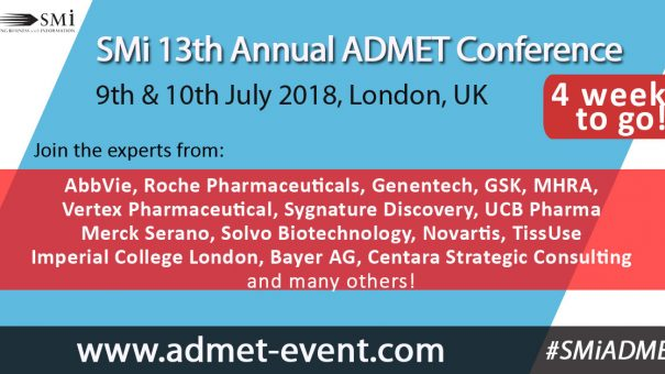 New Speakers from Roche & Imperial College announced for SMi's ADMET Event
