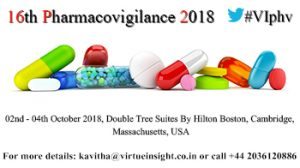 16th Pharmacovigilance 2018
