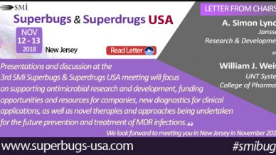 W. J. Wiess and A.S. Lynch invitation to Superbugs & Superdrugs USA