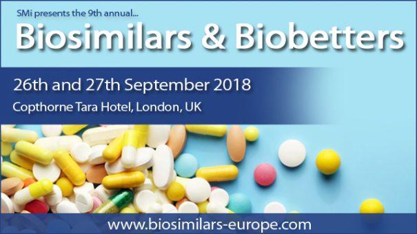 SMi's 9th annual Biosimilars & Biobetters