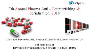 7th Annual Pharma Anti-Counterfeiting & Serialisation 2018