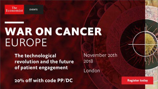 The Economist's War on Cancer Europe 2018