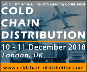Latest Speakers + Topics: Cold Chain Distribution 2018