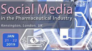 SMi's 11th Annual Social Media in the Pharmaceutical Industry this Jan19!