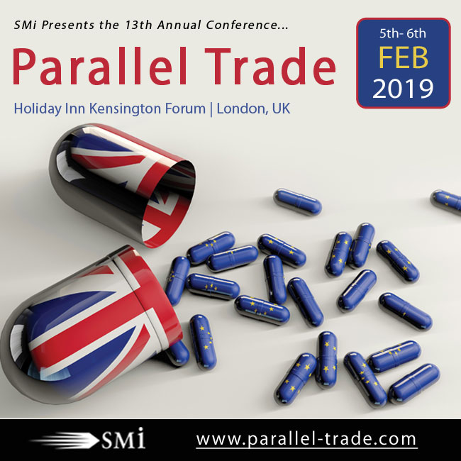 SMi Presents the 13th Annual Conference: Parallel Trade 2019