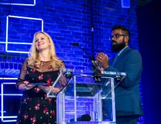 PM Society Digital Awards 2018 Rachel Farrow Romesh Ranganathan