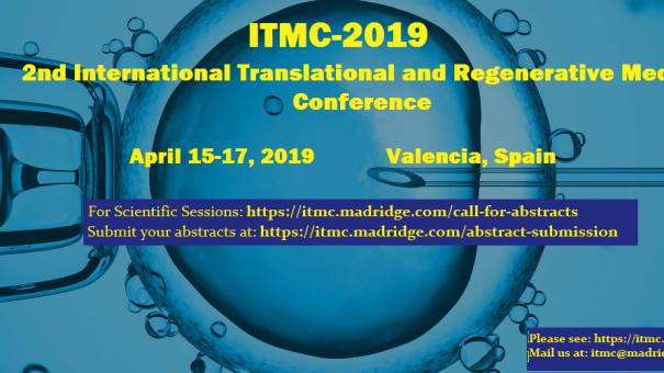 2nd International Translational and Regenerative Medicine Conference