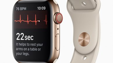 J&J partners with Apple for ECG monitoring project