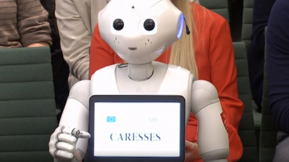 Digital health round-up: Robot tells MPs that AI could transform elderly care
