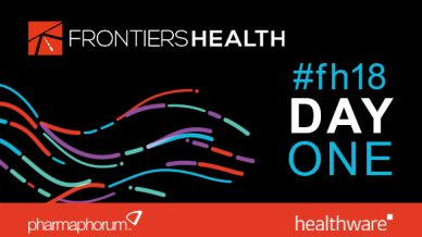 Frontiers Health 2018 Live Day One