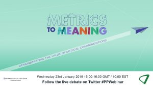 Metrics to meaning: demonstrating the value of medical communications
