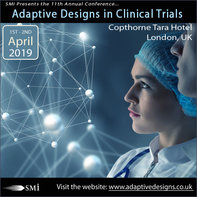 Four weeks until Adaptive Designs in Clinical Trials Conference