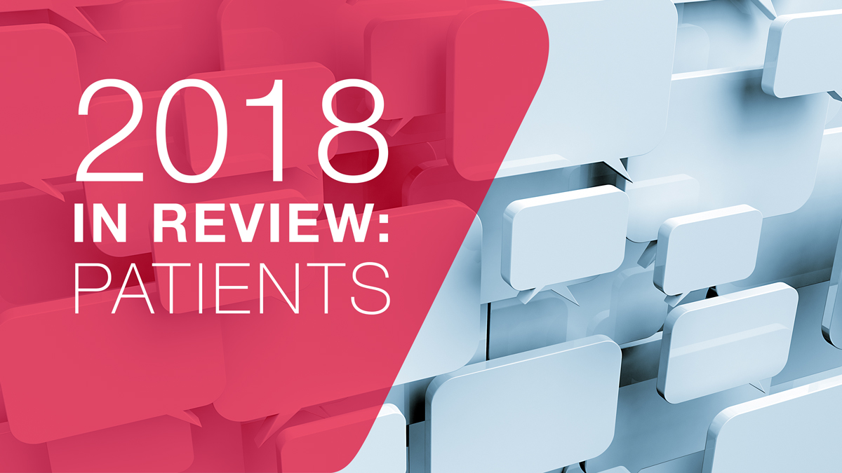 2018 in review: How patient centricity led to new drugs that tackle unmet need