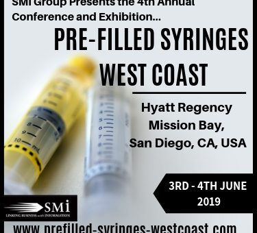 Registration opens for SMi's 4th Pre-filled Syringes West Coast 2019