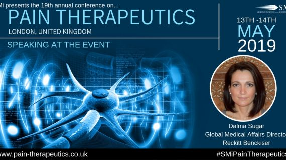 Interview released with Reckitt Benckiser, speaker at Pain Therapeutics 2019