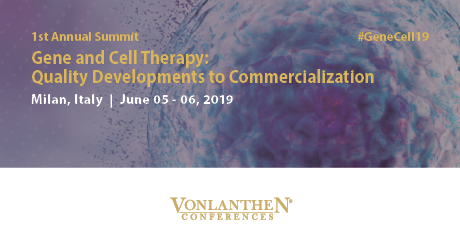 Gene and Cell Therapy: Quality Developments to Commercialization Summit