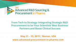 3rd annual Advanced R&D Sourcing & Procurement Summit 2019