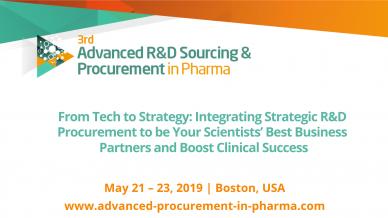 3rd annual Advanced R&D Sourcing & Procurement Summit 2019