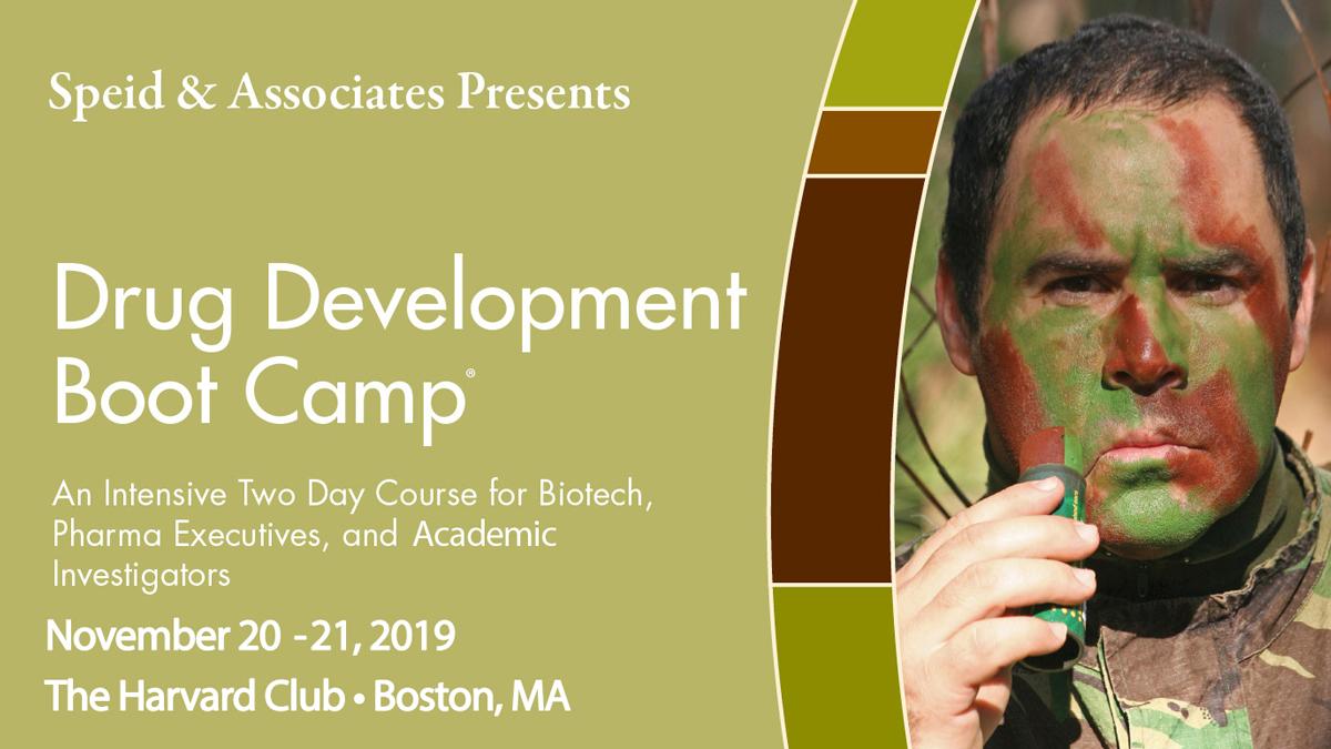Drug Development Boot Camp® 20-21 November 2019