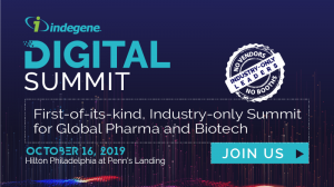 2019 Indegene Digital Summit – From Blockbuster Drugs to Blockbuster Customer Experience