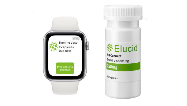eLucid plans to link Pill Connect device to smart watches