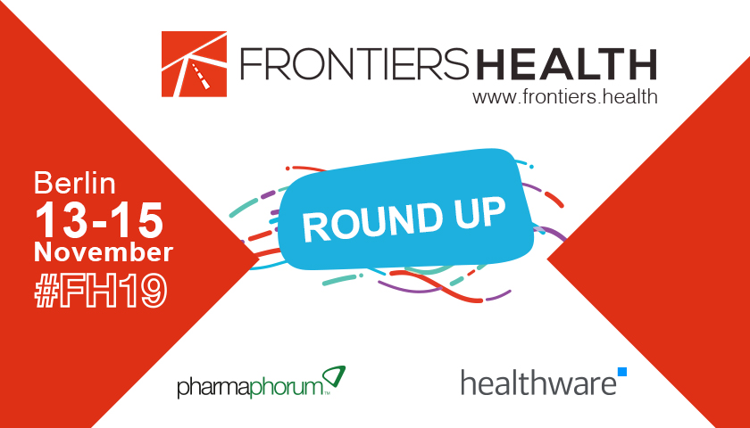 Frontiers Health 19: Disrupting the future