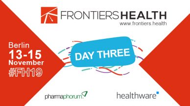 Frontiers Health 2019 – day three