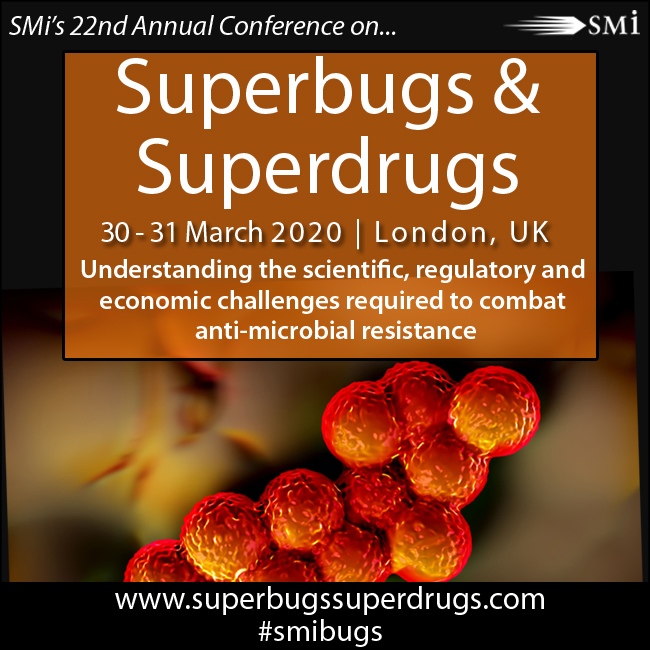 Interview with Martin Everett speaker at SMi's Superbugs & Superdrugs Conference