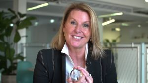 Claire Gillis wins Women in Marketing health leadership prize