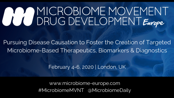 4th Microbiome Movement – Drug Development Europe Summit