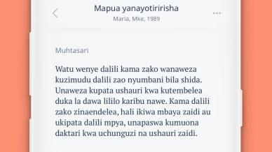 Ada launches first AI health guidance app in Swahili