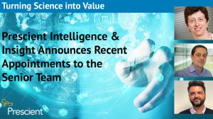Prescient Intelligence & Insight announces recent appointments to the senior team