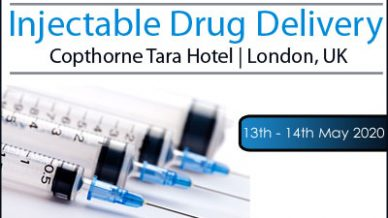 Interactive Pre-conference Workshop announced for Injectable Drug Delivery 2020