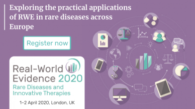 Real-World Evidence 2020: Rare Diseases and Innovative Therapies