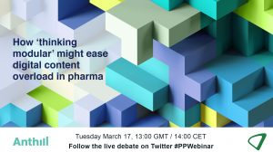 How 'thinking modular' might ease digital content overload in pharma