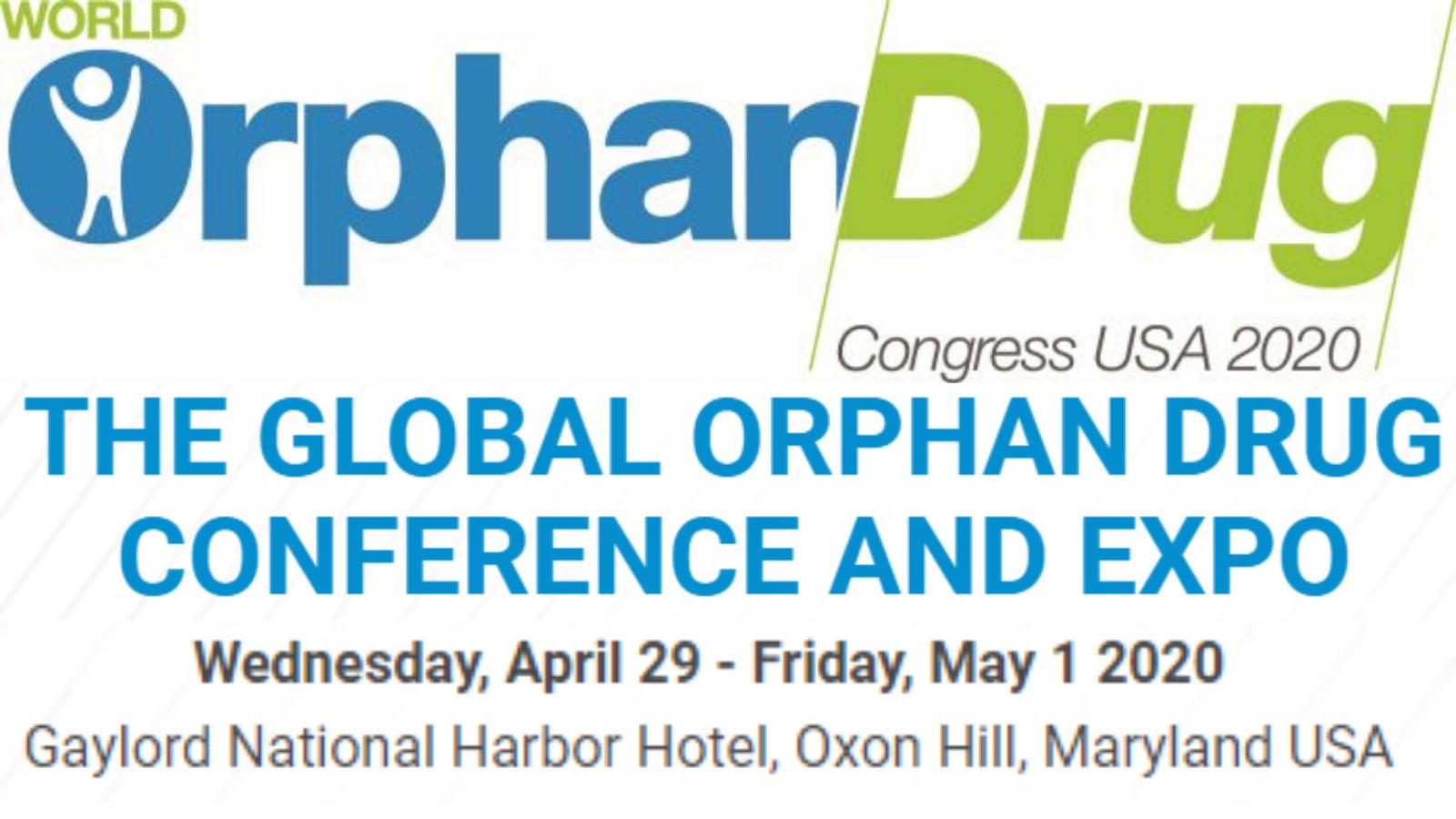 World Orphan Drug Congress USA 2020