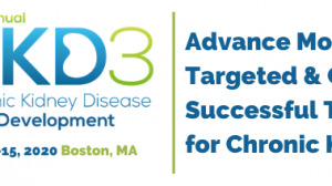 3rd Chronic Kidney Disease Drug Development (CKD3) Summit