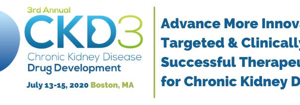 3rd Chronic Kidney Disease Drug Development (CKD3) Summit