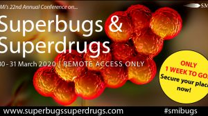 1 week to SMi's Superbugs & Superdrugs – REMOTE ACCESS ONLY